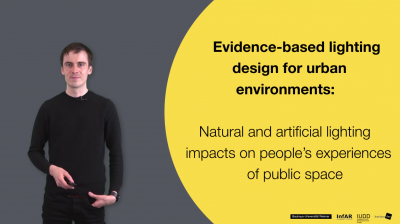 Nils Voerste // Evidence based lighting design for urban environments // Master Thesis 2019