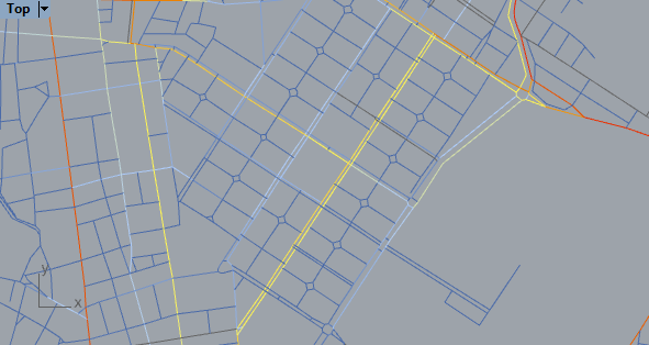 Avenues that has two segments, one for each way